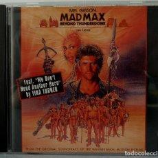 CDs de Música: MAD MAX BEYOND THUNDERDOME - MAURICE JARRE Y OTROS. Lote 238353635