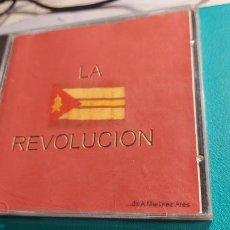 CDs de Música: CD DE LA COMPARSA -LA REVOLUCION- ORIGINAL DE ANTONIO MARTINEZ ARES. Lote 238477110