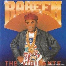 CDs de Música: RAHEEM -THE VIGILANTE CD 1988 PRIMERA EDICION USA RARO!!! HIP HOP. Lote 238481800