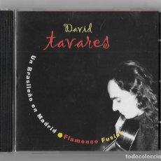 CDs de Música: DAVID TAVARES CD ALBUM 2005 UN BRASILEÑO EN MADRID FLAMENCO FUSION LATIN PIMIENTA RECORDS BUEN ESTAD. Lote 238579480