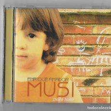 CDs de Música: ENRIQUE AMADOR MUSI CD ALBUM 2005 DESDE NIÑO FLAMENCO FUSION PIANO ARAGON RARO Y ESCASO BUEN ESTADO. Lote 238582475