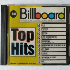 CDs de Música: BILLBOARD, TOP HITS,1980, ELTON JOHN, BLONDIE, IRENE CARA, DIANA ROSS, SPINNERS, CAPTAIN Y TENNILLE. Lote 136033873