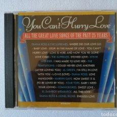 CDs de Música: DIANA ROSS, LIONEL RICHIE, STEVIE WONDER, THE SUPREMES, THE TEMPTATIONS, AL CREEN, MARVIN GAYE. Lote 136184914