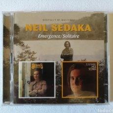 CDs de Música: NEIL SEDAKA, EMERGENCE, SOLITAIRE, 2CDS. Lote 135844161