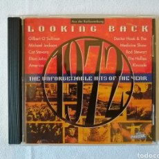 CDs de Música: ELTON JOHN, AMERICA, MICHAEL JACKSON, ROD STEWARD, THE SWEET, KINCADE, THE HOLLIES, CAT STEVENS. Lote 136031293