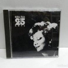 CDs de Música: DISCO CD. NÚRIA FELIU – 25 ANYS. COMPACT DISC.. Lote 238662325