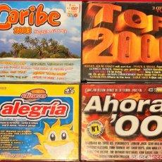 CDs de Música: LOTE 4 RECOPILATORIOS VARIADOS. Lote 238890110