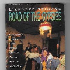 CDs de Música: ROAD OF THE GYPSIES CD ALBUM DOBLE GRAN DIGIPACK 1996 L´EPOPEE TZIGANE FLAMENCO GYPSY JAZZ RARO MIRA. Lote 239371345