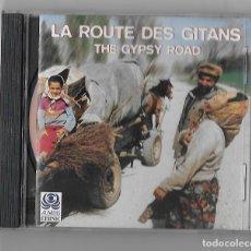 CDs de Música: LA ROUTE DES GITANS CD ALBUM RECOPILATORIO THE GYPSY ROAD FLAMENCO FOLK LAIKO ROMANI AUVIDIS ETHNIC. Lote 239372995