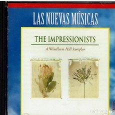 CDs de Música: THE IMPRESIONISTS. WINDHAM HILL. ERQUIAGA,NIGHTNOISE,TIM STORY,JOHN BEASLEY,BUTLER,MCCANDLESS,GRASSI. Lote 239397350