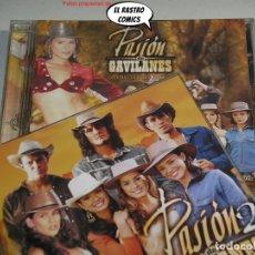 CDs de Musique: PASIÓN DE GAVILANES VOL 1 Y 2, DOBLE, 2 CD, BSO, B S O, SERIE TV, TELEVISIÓN. Lote 239401740