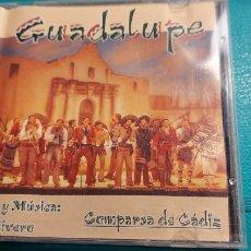 CDs de Música: CD DE LA COMPARSA -GUADALUPE-LETRA Y MUSICA LUIS RIVERO. Lote 239494920