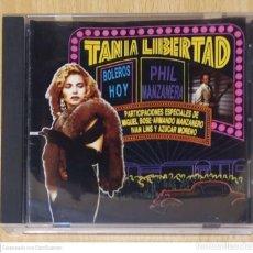 CDs de Música: TANIA LIBERTAD Y PHIL MANZANERA (BOLEROS HOY) CD 1991 EDICIÓN MEXICO. Lote 239509535