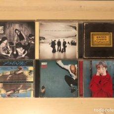 CDs de Música: LOTE 6 CDS ROCK ALTERNATIVO, MOBY, KAISER CHIEFS, PLACEBO, U2. Lote 239512985