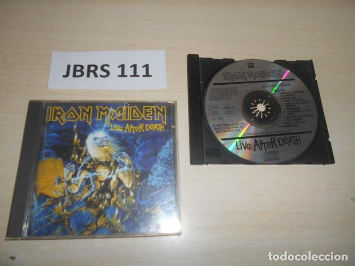 MUSICA - IRON MAIDEN , LIVE AFTHER DEATH - 1º EDICION ESPAÑOLA (Música - CD's Heavy Metal)
