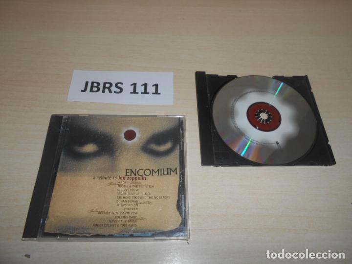 MUSICA - ENCOMIUM A TRIBUTE TO LED ZEPPELIN , 1º EDICION , EDICION ESPAÑOLA (Música - CD's Heavy Metal)