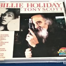 CDs de Música: CD ( BILLIE HOLIDAY WITH TONY SCOTT AND HIS ORCHESTRA ) 1990 GIANTS OF JAZZ - SONIDO PERFECTO. Lote 239730475