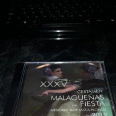 CDs de Música: CERTAMEN MALAGUEÑAS DE FIESTA 2019. NUEVO PRECINTADO. Lote 239746775