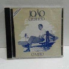 CDs de Música: DISCO CD. JOÃO GILBERTO – O MITO. COMPACT DISC.. Lote 239781170