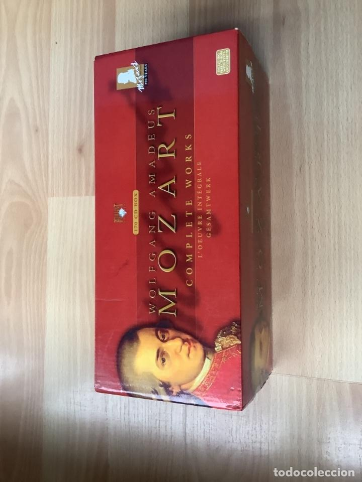 WOLFGANG AMADEUS MOZART COMPLETE WORKS BOX OBRA COMPLETA ESTUCHE 170 CDS (Música - CD's Clásica, Ópera, Zarzuela y Marchas)