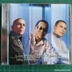 CDs de Música: LOS HERMANOS ROSARIO - SWING A DOMICILIO (CD, ALBUM). Lote 239853020