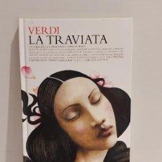 CD di Musica: VERDI / LA TRAVIATA / LOS CLÁSICOS DE LA ÓPERA-400 AÑOS / 01 / LIBRO-CD / CALIDAD LUJO.. Lote 239875940