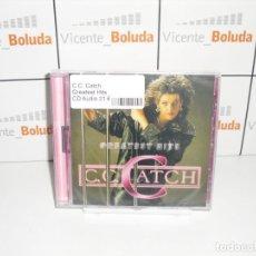 CDs de Música: C.C. CATCH GREATEST HITS ENVIÓ CERTIFICADO A ESPAÑA GRATIS. Lote 288943948