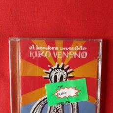 CDs de Música: EL HOMBRE INVISIBLE. KIKO VENENO (PRECINTADO).. Lote 239959665