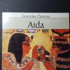 CDs de Música: GRANDES ÓPERAS 'AIDA' MARÍA CALLAS-RICHARD TUCKER. ESCALA DE MILÁN. Lote 239971205