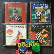 CDs de Música: LOTE 4 CD + OBSEQUIO SET-BOX DUENDE (LEER DESCRIPCIÓN) - AGUJETA, TERREMOTO, PIRIÑACA, ETC. Lote 240012450