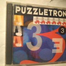 CDs de Música: PUZZLETRON 3. PERFECTOS. DISCO DOBLE. Lote 237959920