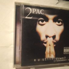 CDs de Música: 2PAC R U STILL DOWN? DISCOS PERFECTOS. DOBLE CD. Lote 237960250