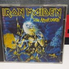 CDs de Música: IRON MAIDEN LIVE AFTER DEATH EDICION LIMITADA CD + CD BONUS PICTURE BUEN ESTADO. Lote 240115880