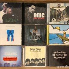 CD di Musica: LOTE 9 CDS ÁLBUMS POP ROCK ALTERNATIVO. Lote 240118910