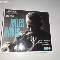 CDs de Música: THE REAL... MILES DAVIS , 3 CD 2011 SONY. Lote 240123650