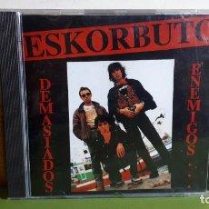 CDs de Música: ESKORBUTO - DEMASIADOS ENEMIGOS - 1991 - COMPRA MÍNIMA 3 EUROS. Lote 240127040