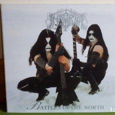 CDs de Música: IMMORTAL - BATTLES IN THE NORTH - DIGIPACK - 1995 - COMPRA MÍNIMA 3 EUROS. Lote 240127550