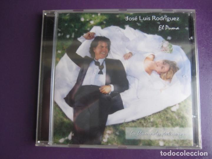 JOSÉ LUIS RODRÍGUEZ EL PUMA - LA LLAMADA DEL AMOR - CD EPIC 1996 PRECINTADO - MELODICA LATINA VENEZ (Música - CD's Latina)