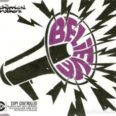 CDs de Música: THE CHEMICAL BROTHERS - BELIEVE. Lote 240182075