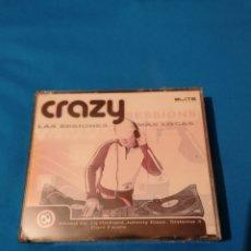 CDs de Música: CRAZY SESSIONS MIXED BY DJ RICHARD, JOHNNY BASS, SISTEMA 3, DANI FIESTA, LAS SESIONES MÁS LOCAS 3CD. Lote 240276055