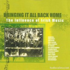 CDs de Música: ELVIS COSTELLO, PAUL BRADY, WATERBOYS Y OTROS - BRINGING IT ALL BACK HOME 2CD. Lote 240286660