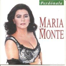 CDs de Música: MARIA DEL MONTE - PERDONALA (CDSINGLE CARTON PROMO, VENTURA MUSIC 2000). Lote 263659100