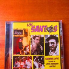 CDs de Música: LOS SANTOS (CARNAVAL 2010) (COMPARSA JESUS BIENVENIDO) (CD). Lote 133543702