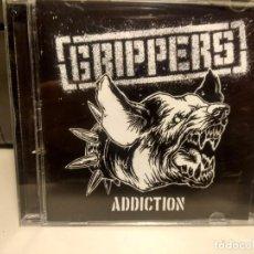 CDs de Música: CD GRIPPERS : ADDICTION ( GRUPO ESPAÑOL DE HARDCORE ). Lote 240363165