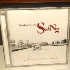 CDs de Música: CD JOAN MOLINER & CONRAD SETO GRUP : NADALES AMB SWING. Lote 240363555