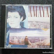 CDs de Musique: CD NUEVO 1988 - AMAYA / SOBRE EL LATIDO DE LA CIUDAD - BMG ARIOLA - -. Lote 240386215