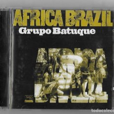 CDs de Música: GRUPO BATUQUE CD ALBUM IMPORTACION UK 2000 AFRICA BRAZIL JAZZ LATIN FOLK WORLD FUSION BATUCADA RARO. Lote 240404200