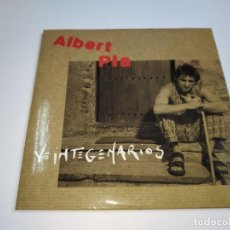 CD de Música: 0221- ALBERT PLA VEINTEGENARIOS SINGLE PROMO CD - DISCO ESTADO NUEVO. Lote 240407075