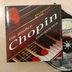 CDs de Música: CHOPIN, DIE GROSSEN CHOPIN INTERPRETEN, LASERLIGHT CLASSICS 14168, 1995 ALEMANIA (NM_NM). Lote 240427685