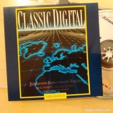 CDs de Música: BACH, MIKLOS SPANYI, OBRAS FAMOSAS PARA ÓRGANO ,CLASSIC DIGITAL 140 117-2, ALEMANIA(NM_NM). Lote 240439955